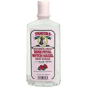 Thayer s Witch Hazel with Aloe Vera, Rose Petal Toner 12 oz 12 pack