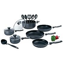 15Pcs Aluminum Cookware Set