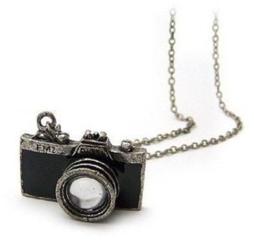 18 opinioni per Gleader Collana macchina fotografica antica in nera