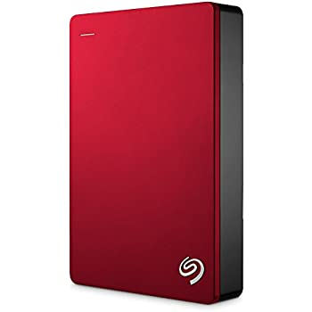 Seagate Backup Plus Portable 5TB External Hard Drive HDD - Red USB 3.0 for PC Laptop and Mac, 2 Months Adobe CC Photography (STDR5000103)
