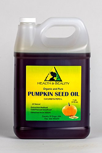 Pumpkin Seed Oil Unrefined Organic Carrier Cold Pressed P...