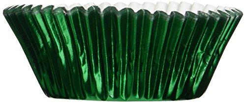 Fox Run 6980 Green Foil Bake Cups, Standard, 32 Cups