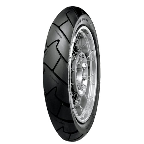 Continental Conti Trail Attack 2 - Adventure Touring/Dual Sport - Front - 100/90HB-19 , Position: Front, Rim Size: 19, Tire Application: All-Terrain, Tire Size: 100/90-19, Tire Type: Dual Sport, Load Rating: 57, Speed Rating: H, Tire Construction: Radial