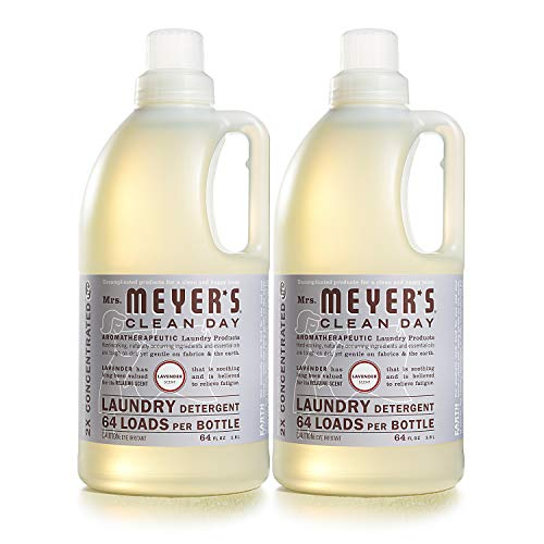 Mrs. Meyer's Laundry Detergent, Lavender, 64 fl oz (2 ct)