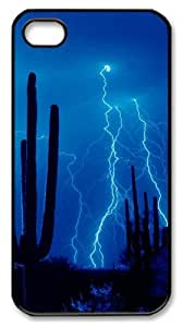 iphone 4 case free shipping cover Skyviews Desert Storm PC Black for Apple iPhone 4/4S by icecream design