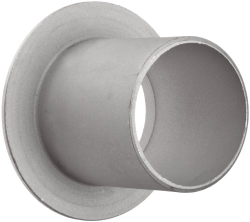 Stainless Steel 304/304L Pipe Fitting, Type C MSS Stub End, Butt-Weld, Schedule 10, 12'' Pipe Size by Merit Brass (Image #1)'