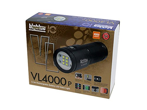 Big Blue VL4000P (4000 Lumens) Underwater Video Light