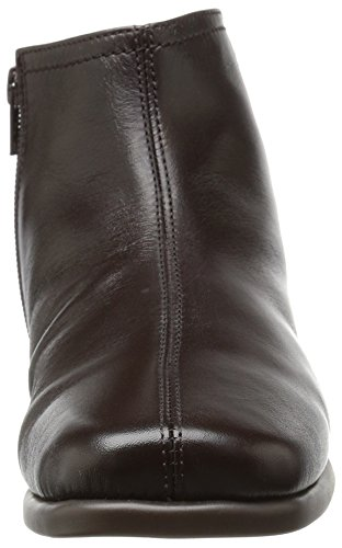 Dark Boot Trouble Double 2 Aerosoles Brown Women's Leather Ankle XTYwX1q