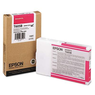 Epson T605B00 UltraChrome K3 110ml Magenta Cartridge -