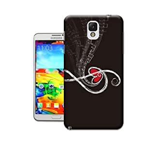 Randi''s iPhoneCase Smart Style Music Series Loving Notes Phone Case/Shell for Samsung Note 3