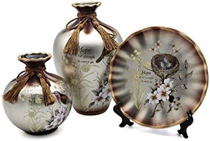 NEWQZ Ceramic Vases Set of 3