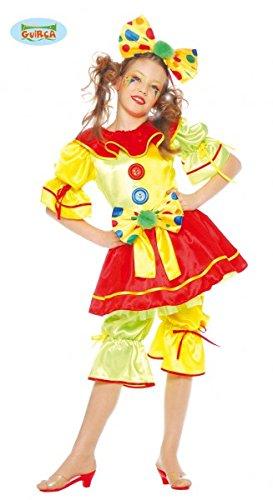 tecnologie sofisticate bella vista vendite calde Guirca Costume Pagliaccetta TAGLIA 7/9 ANNI Bambina ...
