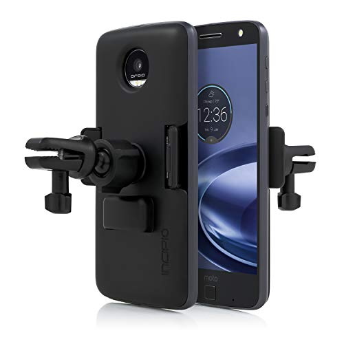 Incipio MT-404-BLK-V Moto Mods Vehicle Dock Mount System for Verizon and Motorola Moto Z, Black