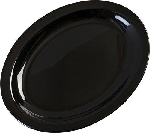 Carlisle KL12703 Kingline Melamine Oval Platter Tray, 12