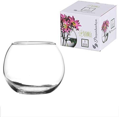 Pasabahce 43407 Globe Vaso Vetro, 9.9 cm, Trasparente