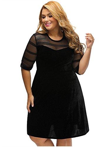 Velvet Top Dress - 4