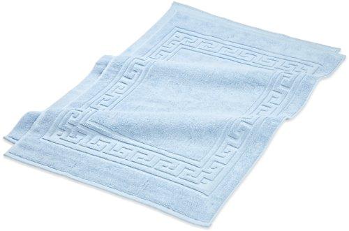 light blue bath rug set - 5