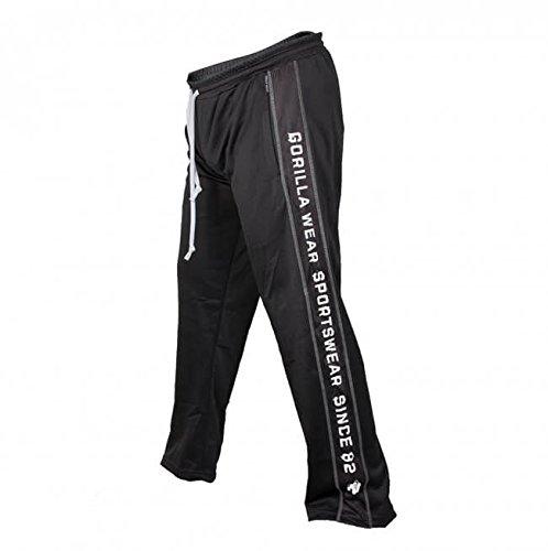 Gorilla Wear Functional Mesh Pants - schwarz/weiß - Bodybuildingund Fitness Hose für Herren