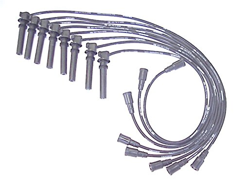 ACCEL 138019 Spark Plug Wire Set 90 Degree Wire Straight Boot 8 Piece Set Spark Plug Wire Set