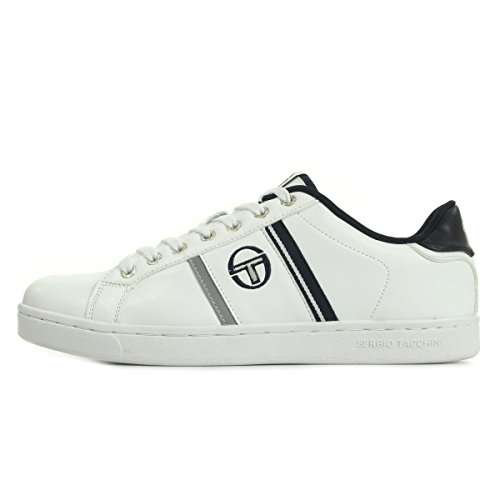 Sergio Tacchini Nizza Flag Leather White Navy ST52412201, Basket