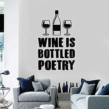 Ajcwhml Wine Shop Logo Kitchen Quotes El Vino está ...