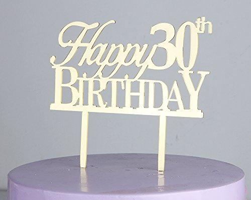 edible birthday numbers - 5