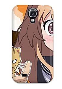 High Grade Michael paytosh Flexible Tpu Case For Galaxy S4 - Toradora