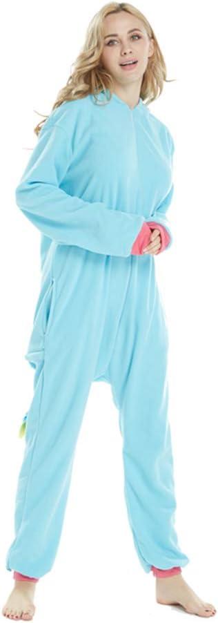 LPATTERN Erwachsene Damen//Herren Cartoon Kost/üm Jumpsuit Overall Schlafanzug Pyjamas Einteiler S f/ür K/örpergr/ö/ße 150-158CM Schwarz