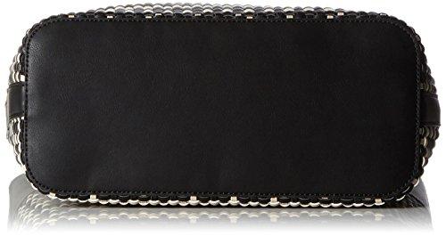 ESPRIT Damen 057ea1o073 Umhängetasche, Schwarz (Black), 13 x 38 x 29 cm