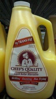 Chef's Quality: Liquid Butter Alternative 1 Gallon (3 Pack Case)