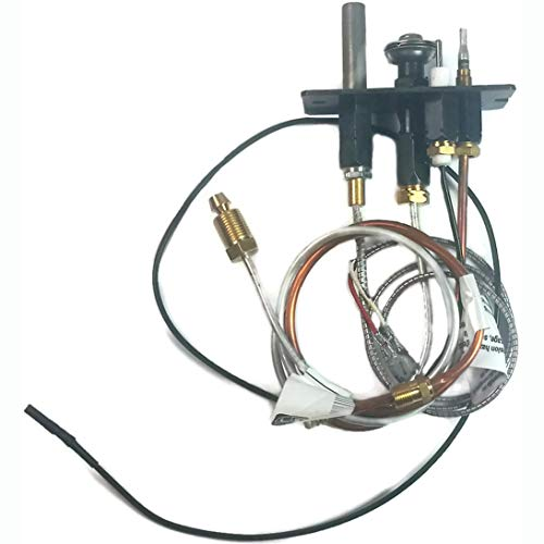 Majestic Athletic 1111 Pilot Assembly NG Replacement Part by Majestic Fireplaces, Black (Pilot Light Fireplace)