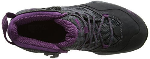 The North Face Hedgehog Hike Mid Gtx, Botas de Senderismo para Mujer Varios colores (Dark Shadow Grey / Wood Violet)