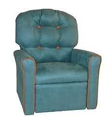 Dozydotes Kid\'s Home Furniture Rocker Recline Accent r -Tide Pool Pumpkin