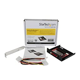 StarTech.com 3.5-Inch Drive Bay IDE to Single CF SSD Adapter Card Reader (35BAYCF2IDE)