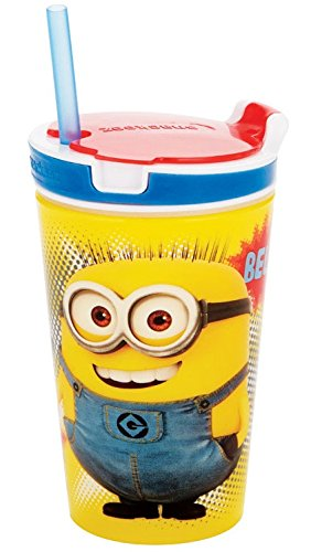 Despicable Me The Minions Snackeez Jr (Pack of One Cup, Colors and Designs (Despicable Me Cups)