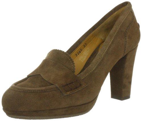 Lottusse S7265 - mocasines de cuero mujer marrón - Braun (Marmotta)