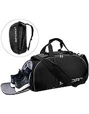 LC-dolida Sporttasche 35 L, 3 in 1 Reisetasche mit Schuhfach wasserdicht,Fitness Tasche Sporttasche Herren Damen