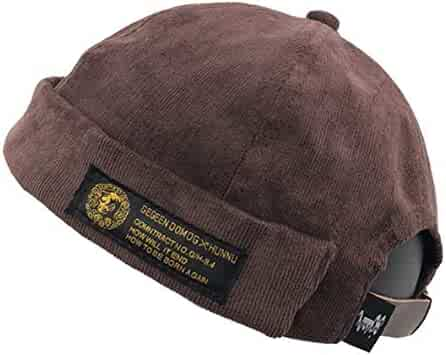 e09933858ff60 Clape Watch Cap Commando Work Beanie Corduroy Docker Leon Brimless Hat  Rolled Cuff Harbour Hat
