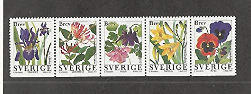 Sweden, Postage Stamp, 2227-2231 Mint NH, 1997 Flower, JFZ ()