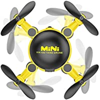 Mini wifi Drone,Nesee Mini wifi Camera Drone RC Quadcopter 2.4GHz 4CH 6-Axis Gyro 3D UFO FPV RC KY901 (Yellow)