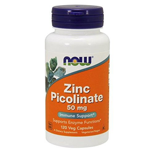 NOW Foods - Zinc Picolinate 50 mg, 120 capsules