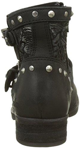 Bunker Women Soly Short Boots Noir (nero)