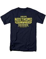 Kortärmad T-shirt för män och kvinnor intressant mönster Alien USCSS Nostromo vintage logo t-shirt klistermärken