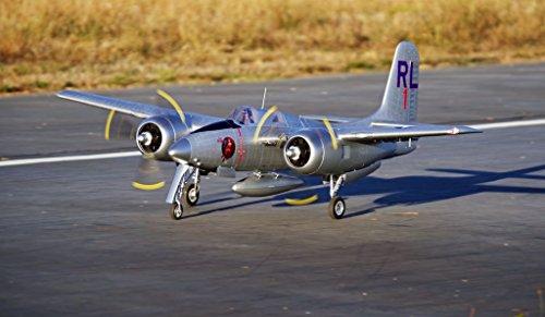 Twin Engine Rc Airplane (FMS F7F Tiger Cat 1700mm (66.9