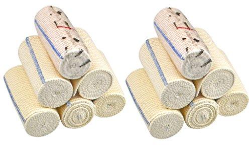 GT Cotton Elastic Bandage w/Hook and Loop Closure on Both En