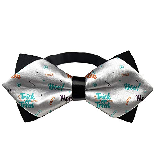 (YEAHSPACE Men's Happy Halloween Party Formal Pretied Bow Tie Party Xmas Gift)