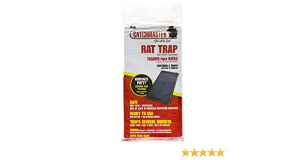Amazon.com: Catchmaster Rat Glue Boards - Glue Tray 48R-48 boards 401150cs: Industrial & Scientific