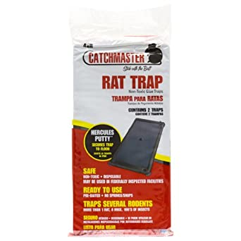 Catchmaster Rat Glue Boards - Glue Tray 48R-48 boards 401150cs