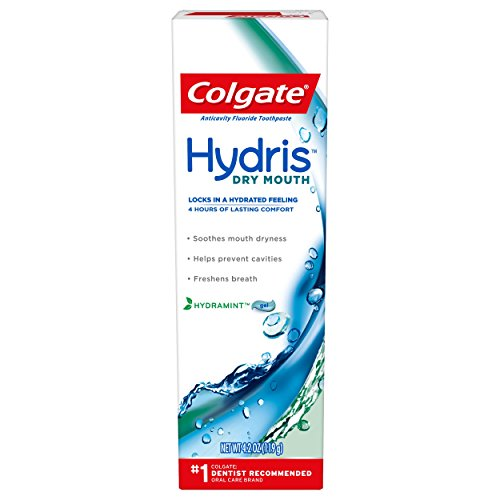 - Colgate Hydris Dry Mouth Toothpaste, 4.2 oz