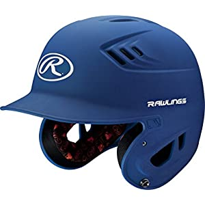Rawlings R16 Series Matte Batting Helmet, Royal, Junior